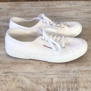 Superga Shoes - Superga Cotu Sneaker {White} 39.5/8.5 US
